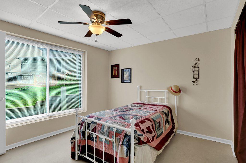 Huge window in bedroom 3.
